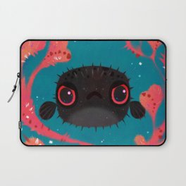 Angry puffer Laptop Sleeve