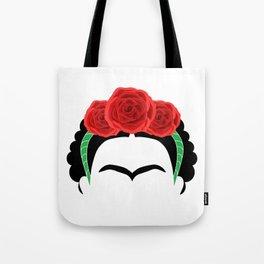 Frida Kahlo: Te quiero mas que mi propia piel. Tote Bag