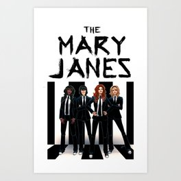 The Mary Janes Art Print