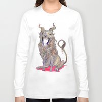 beast Long Sleeve T-shirts featuring Beast by Taylor Mleigh