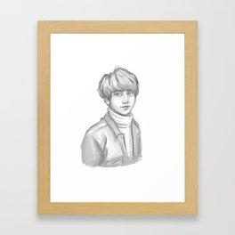 Kookie Framed Art Print