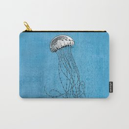 Wire jellyfish Carry-All Pouch