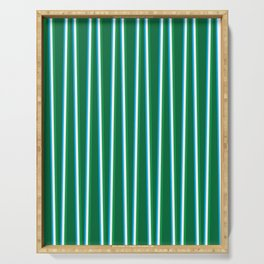 Between the Trees - Forest Green, Green & Blue #811 Serving Tray