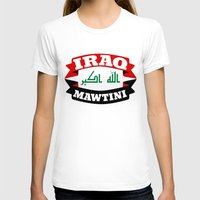 arab T-shirts featuring Iraq My Homeland Banner by mailboxdisco