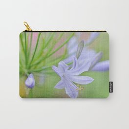 Simple Agapanthus Carry-All Pouch