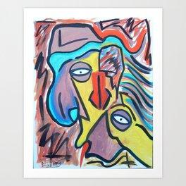 Nosey Art Print