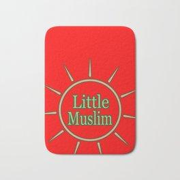 Believing Muslim Small Sunshine Light Gift Bath Mat