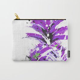 Violet Vacation pineapple Carry-All Pouch