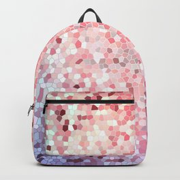 Peach Abstract Rose Gold Design Pattern Texture Backpack