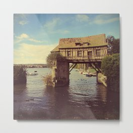 Water Cottage - Giverny, France Metal Print