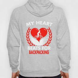 My Heart Beats For Backpacking Hoody