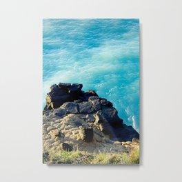 Dashing Rocks Metal Print