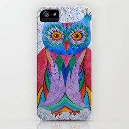 Color Owl iPhone Case