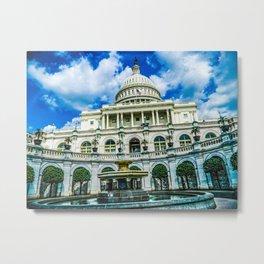 District of Columbia Metal Print