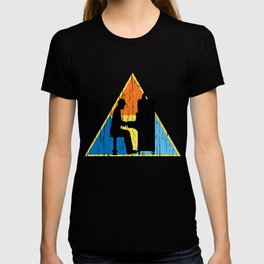 Piano Triangle T-Shirt VINTAGE EDITION T-shirt