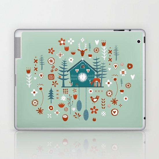 Cuckoo Clock Laptop & iPad Skin