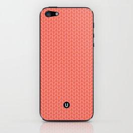 U16 - knit pink iPhone Skin