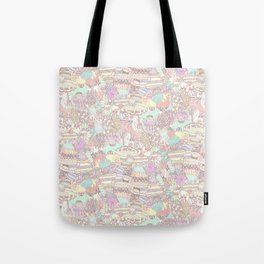 The Sweet Forest Pattern Tote Bag