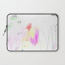 abstract whale Laptop Sleeve