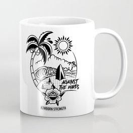 Against the Waves Coffee Mug