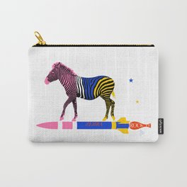 Zebra Rock It 16A Carry-All Pouch