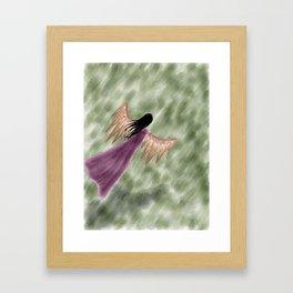 dreaming of flight Framed Art Print