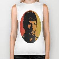 spock Biker Tanks featuring Spock by SVA🌺Silvia Van