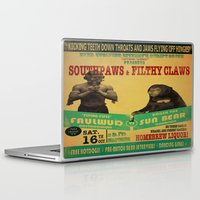 boxing Laptop & iPad Skins featuring Boxing Poster by EverEvolvingEpithet