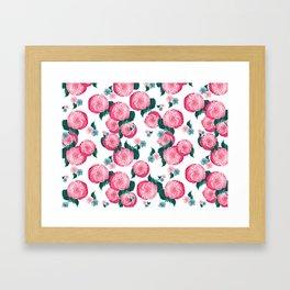 Spring Floral Dream #10 #decor #art #society6 Framed Art Print
