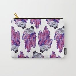 crystal cluster Carry-All Pouch