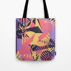 Dazzle Camo #03 - Purple & Yellow Tote Bag