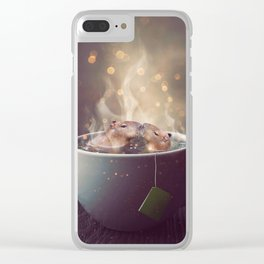 Croodle Clear iPhone Case