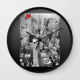 New York - Traveling series Wall Clock