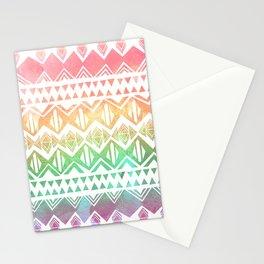 Tribal Sunrise Stationery Cards