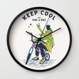 Keep Cool Wall Clock