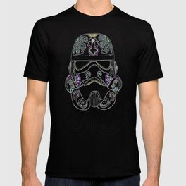 Day of the dead Storm Trooper head T-shirt