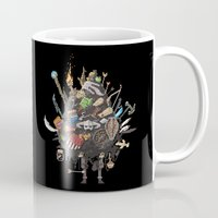 skyrim Mugs featuring Let me guess, someone stole your sweetroll by Fightstacy
