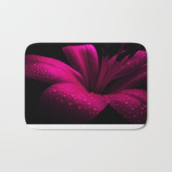 Pink Lily. On Front Page. Bath Mat