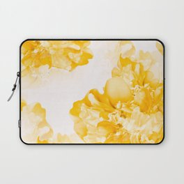 Beautiful Peony Flowers White Background #decor #society6 #buyart Laptop Sleeve