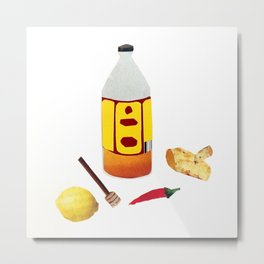 a Potion to Cure a Hangover Metal Print