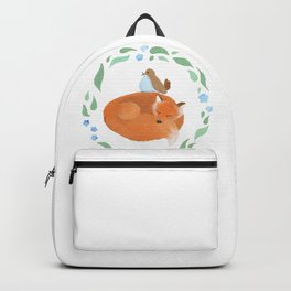 Fox and Bird Backpack
