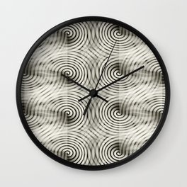 Carbon Thought Wall Clock