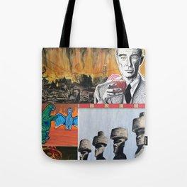 Oppenheimer's Deadly Tiki Toys Tote Bag