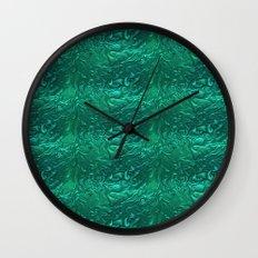 Liquid Metal. Wall Clock