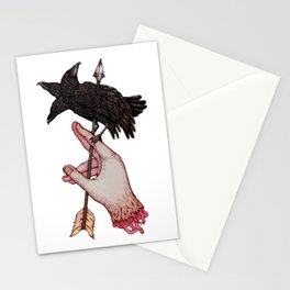 Three Times Unlucky Stationery Cards