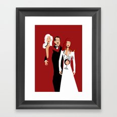 Death Becomes Her Framed Art Print