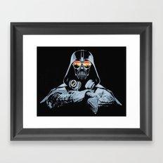 DJ Darth Vader Framed Art Print
