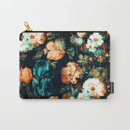 Vintage Floral Carry-All Pouch