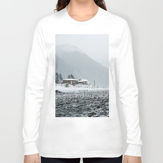 Snowy Valley Long Sleeve T-shirt