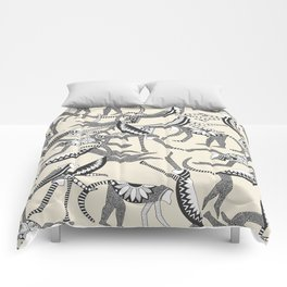 monkey light Comforters